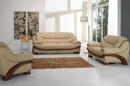 Vig Vgyi870 Divani Casa 870-Traditional Leather Sofa Set