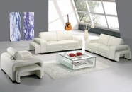 Vig Vgyia32 Divani Casa A32-Modern Leather Sofa Set