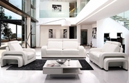 VIG Furniture VGYIA32B-Wht Divani Casa A32B - Modern Leather Sofa Set