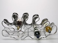 VIG Furniture WF-0204 Stainless Steel Wine Rack