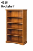 Woodcrest Pineridge Bookcase 4118