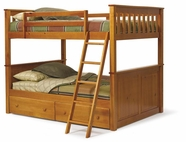Woodcrest PineRidge Full Bunk bed 4254