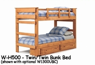 Woodcrest W-H500 Woody Creek Bunk Bed