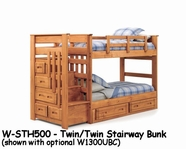 Woodcrest W-STH500 Woody Creek Stairway Bed