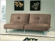 Yuan Tai 1040BR Brown Adjustable Futon