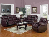 Yuan Tai 1070SLC-SET(3) SET - Kaden Brown Sofa 3 Pcs