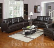 Yuan Tai 1080Sl-Set(2) Set-Caleb Chocolate Sofa & Love
