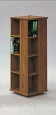 Yuan Tai 1422F Oak CD Storage/Rotary