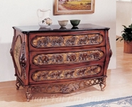 Yuan Tai 1510 Carved Bombe Chest