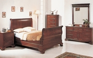 Yuan Tai 2800Q Audrey Queen Sleigh Bedroom set