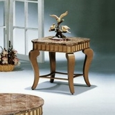 Yuan Tai 3381E-BK Jasmine End Table