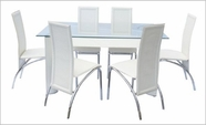 Yuan Tai 3410T-3411C-7 7 Pc Bama Dining Set