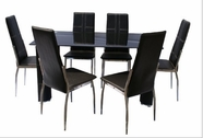 Yuan Tai 3430T(3431C)-6 7 Pc Avatar Dining Set