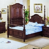 Yuan Tai 3802K Alexia Poster King Bed