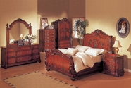 Yuan Tai 4058Q Richmond Sleigh Queen Bedroom set