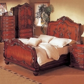 Yuan Tai 4059K Richmond Sleigh King Bed