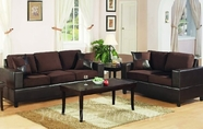 Yuan Tai 4670/71(CH)-SET SET - Chocolate Sofa & Loveseat