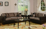 Yuan Tai 4672/73(SD)-SET SET - Saddle Sofa/Loveseat