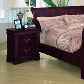 Yuan Tai 4703N Louis Philippe Cherry Nightstand