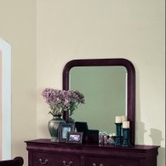 Yuan Tai 4706M Louis Philippe Cherry Mirror