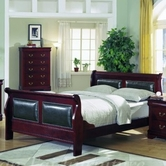 Yuan Tai 4800Q Louis Phillipe Padded Queen Bed