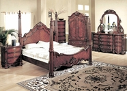 Yuan Tai 5290Q Savannah Poster Queen Bedroom set