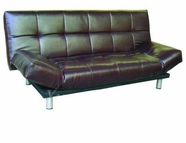 Yuan Tai 6640BRN Brown Futon