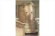 Yuan Tai 7504TV Florence Whitewash TV Armoire