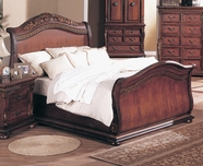 Yuan Tai 8531K Florence Cherry King Bed