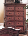 Yuan Tai 8535CH Florence Cherry Chest