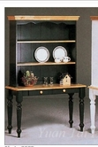 Yuan Tai 8607GR Green/Natural Buffet/Hutch