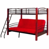 Yuan Tai 9099 Brooklyn Twin/Full Futon Bunkbed