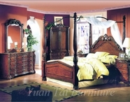 Yuan Tai A6000Q-A6006M-6007DR Isabella Bed-Mirror-Dresser Dedroom Set