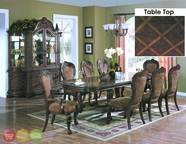 Yuan Tai Aurora 9 Piece Traditional Style Formal Dining Room Set