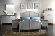 Yuan Tai AV1380Q Avalon White Queen Bedroom set