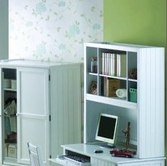 Yuan Tai AV1388H Avalon White Hutch