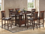 Yuan Tai AV150PT(51CC)-6 SET - Avenue Table w/6 Chairs