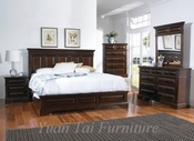 Yuan Tai BL7300Q Bellagio Queen Panel Bedroom set