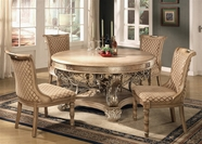 Yuan Tai BR4520T-21S-4 SET - Bridgette Round Table 5 Pcs
