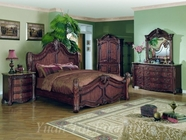 Yuan Tai BR4601K(TV)-SET SET - Brianna King w/TV Armoire 5Pc