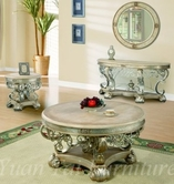 Yuan Tai BR4722C-4721CT-4723E Bridgette Cocktail-End-Console-Table Set