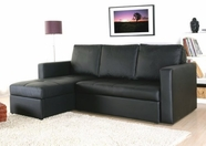 Yuan Tai BY7900BK Byron Black Sectional Sleeper
