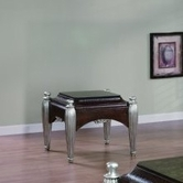 Yuan Tai CA1270E Catalpa End Table w/Marble