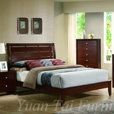 Yuan Tai CA5730Q Carolina Queen Bed