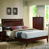 Yuan Tai CA5731K Carolina King Bed