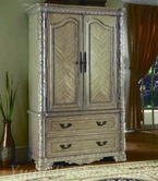 Yuan Tai CA7904TV Cannes Whitewash TV Armoire
