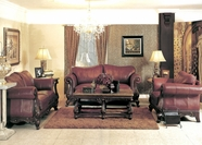 Yuan Tai - Charlie CH1086S-CH1086L 2 Piece Leather Living Room Set