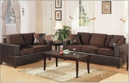 Yuan Tai - Chocolate 4670S-CH-4671L-CH 2 Piece Living Room Set