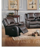 Yuan Tai CL8813C-BR Clermont Brown Recliner Chair