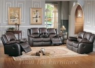 Yuan Tai - Clermont CL8813S-BR-CL8813L Living Room Set